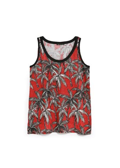 palm linen top