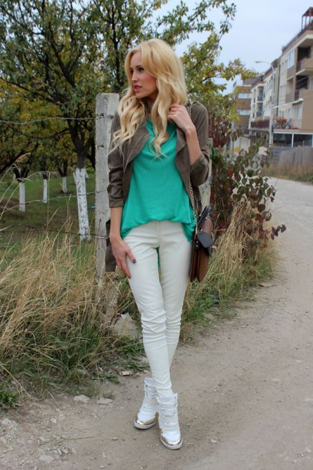 Amy Green Drape Collar Pockets Long Sleeve Drawstring Outerwear - Sheinside.com
