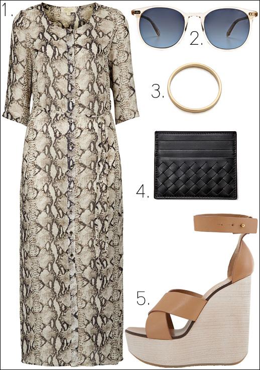 Le Fashion: HOLLI ROGERS | PYTHON   NEUTRALS