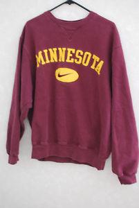 Nike Minnesota Gophers Mens S Pullover Maroon/Gold Sweatshirt! NCAA Sewn | eBay