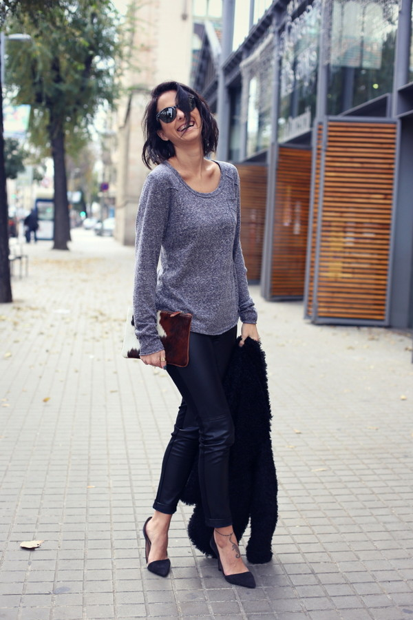 style in lima coat t-shirt pants shoes bag jewels