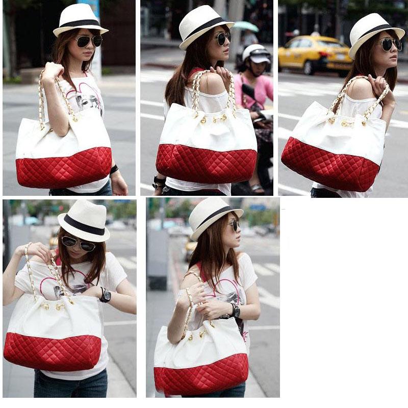 Korean Women's Lady Satchel Shoulder Bag Purse PU Leather Handbag Tote Bag New   eBay