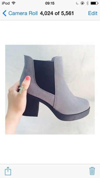 shoes boots beautiful brown boots high heels chelsea boots
