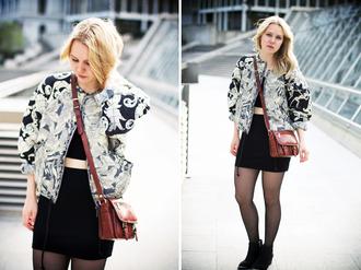 bag t-shirt shoes jacket elenita skirt