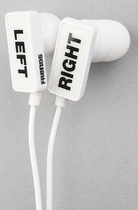 Frends The Clip I Can't Hear U In-Ear Earpieces White: Amazon.co.uk: Electronics