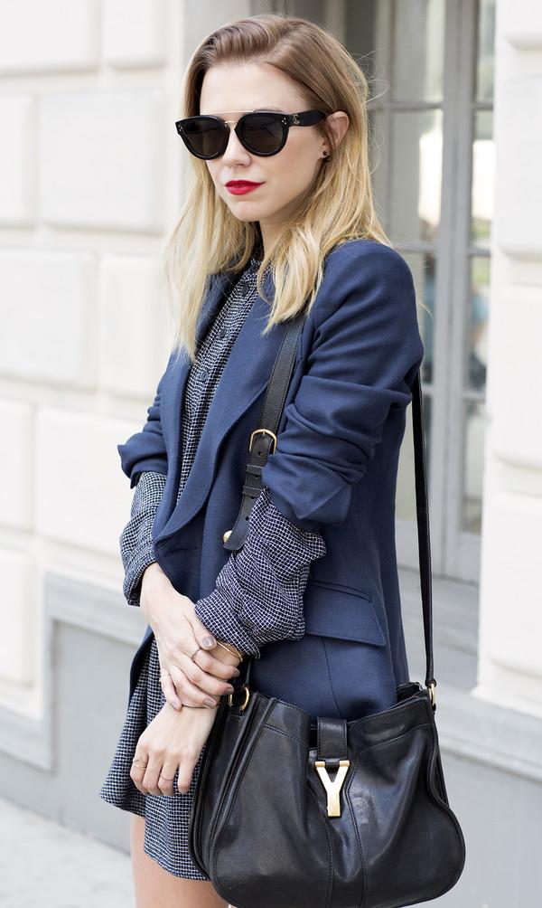 always judging jacket dress shoes sunglasses bag jewels