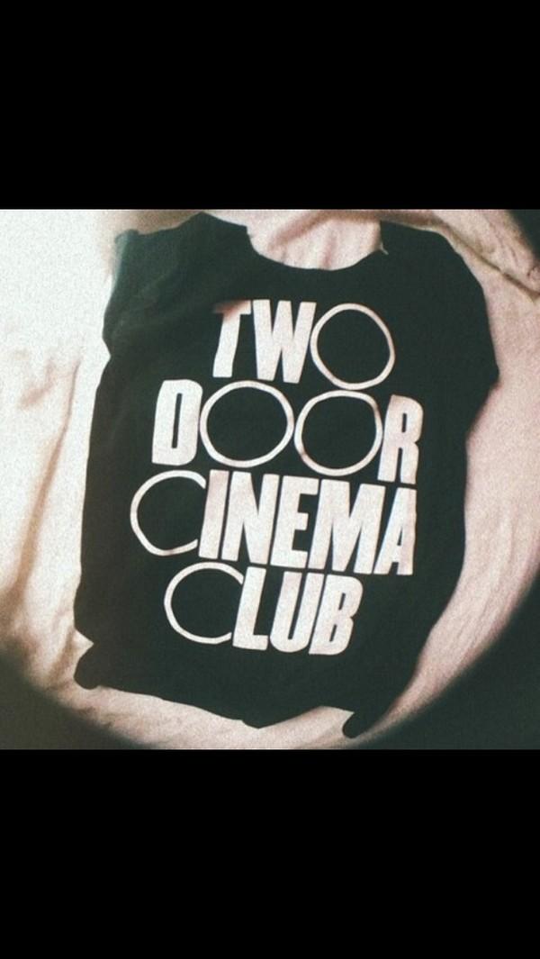 shirt two door cinema club t-shirt