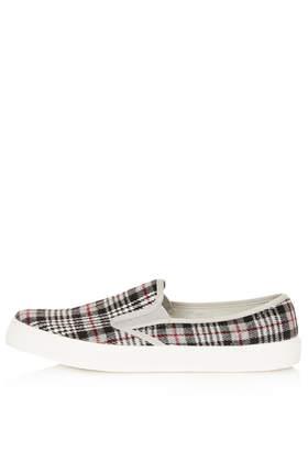 TIKA2 Tartan Skaters - Flats  - Shoes  - Topshop
