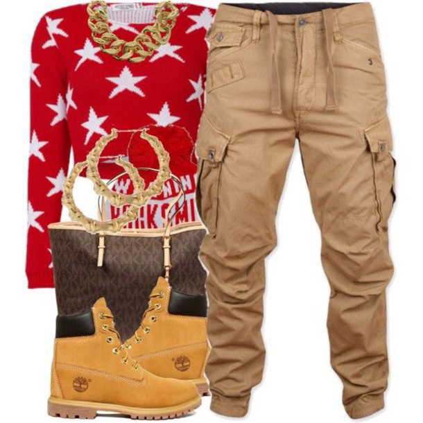 pants women boots sweatpants comfy and cute dope stylish neutral timberlnad timberland boots dope fashion laid back shirt