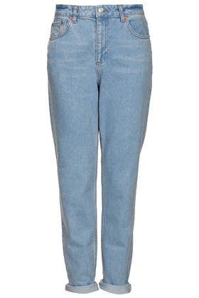 MOTO Baby Blue Wash Mom Jeans - Jeans - Clothing - Topshop