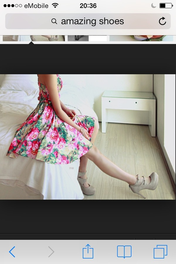dress flowery  dress