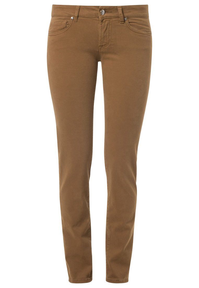 Roy Rogers ASHLEE - Slim fit jeans - brown - Zalando.co.uk