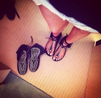 shoes isabel marant sandales moccasins