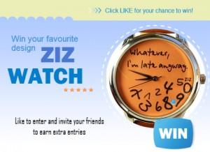 Monthly ZIZ iz TIME Watch Giveaway | ZIZ iz TIME