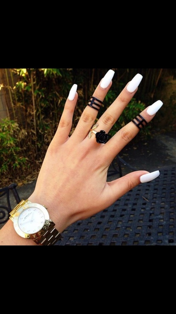 jewels accessories ring knuckle ring black rings classy streetwear