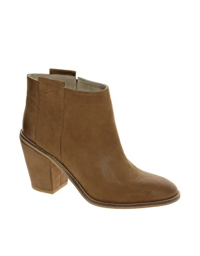 ASOS | ASOS ANNOTATE Leather Ankle Boots at ASOS