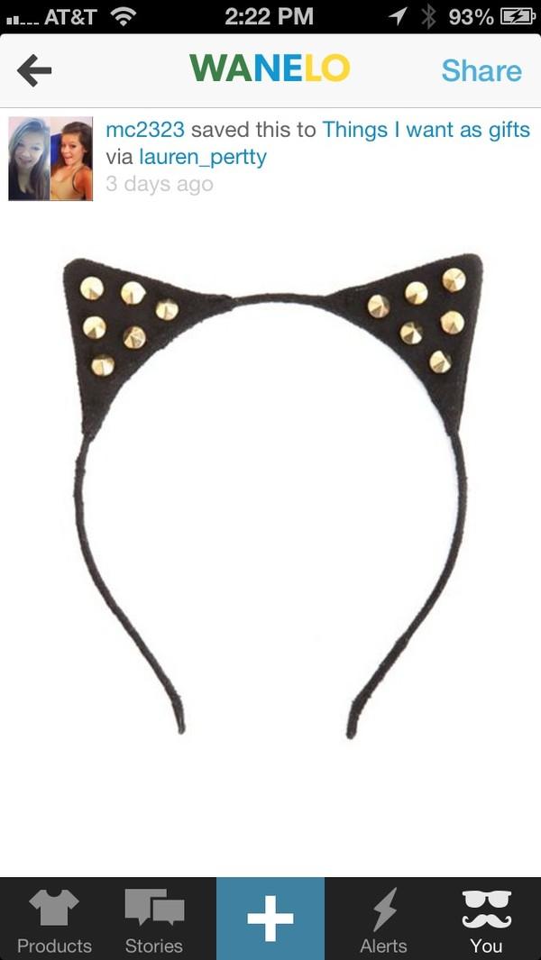 hat cats headband