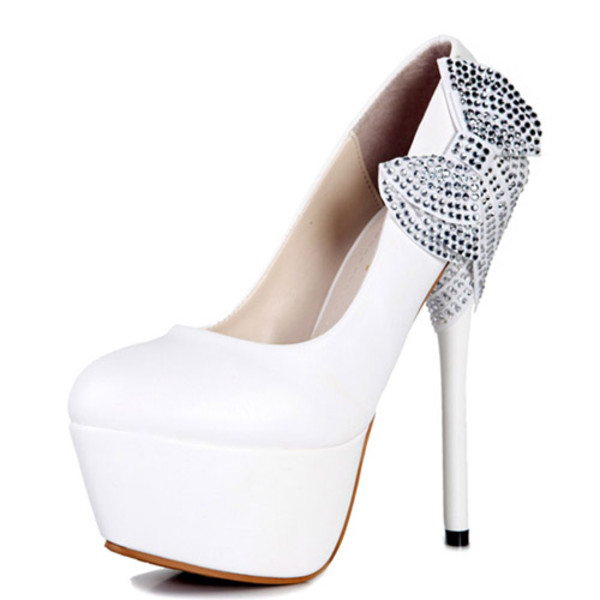 shoes white silver dimonds high heels white high heels dimonds