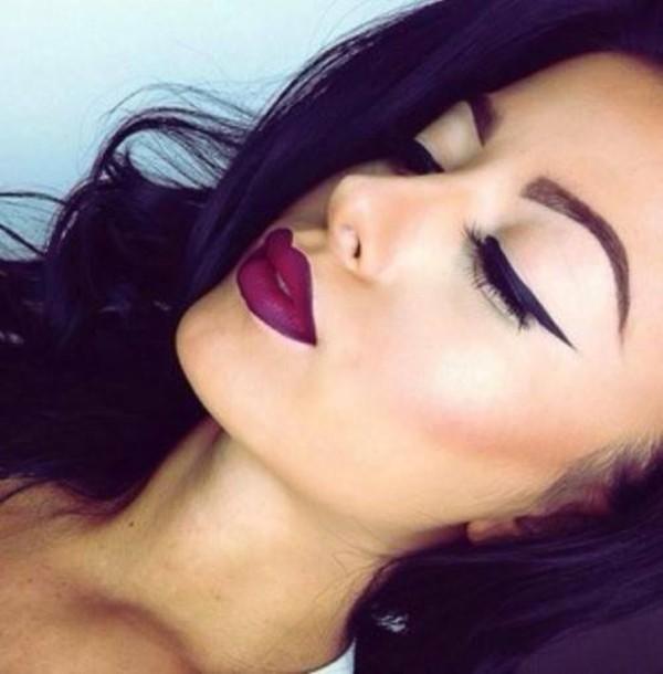dress make-up purple velvet velvet lipstick purple lipstick purple velvet lipstick