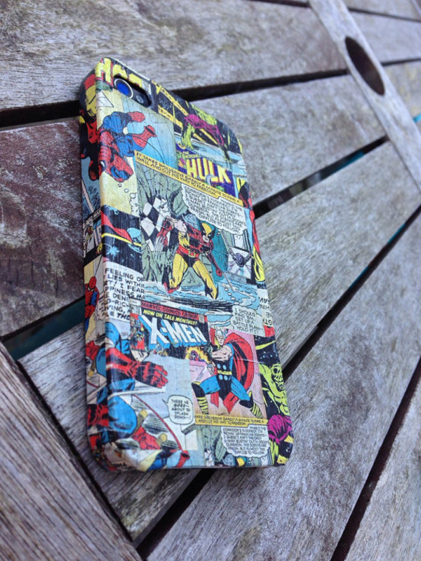 jewels marvel x-men The Avengers phone cover iphone 5 case