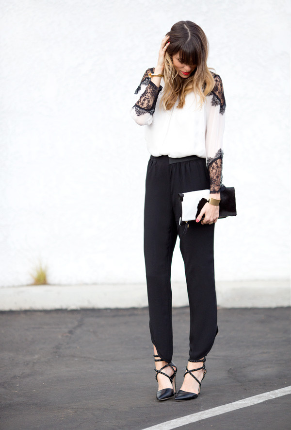 a house in the hills blouse pants shoes bag jewels