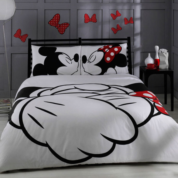 home accessory disney mickey mouse gift ideas valentine's day home decor bedding valentines day gift idea wedding gift