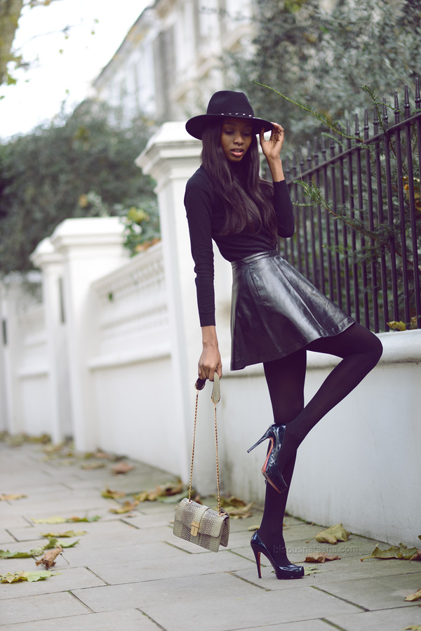 bisous natasha hat skirt shoes bag