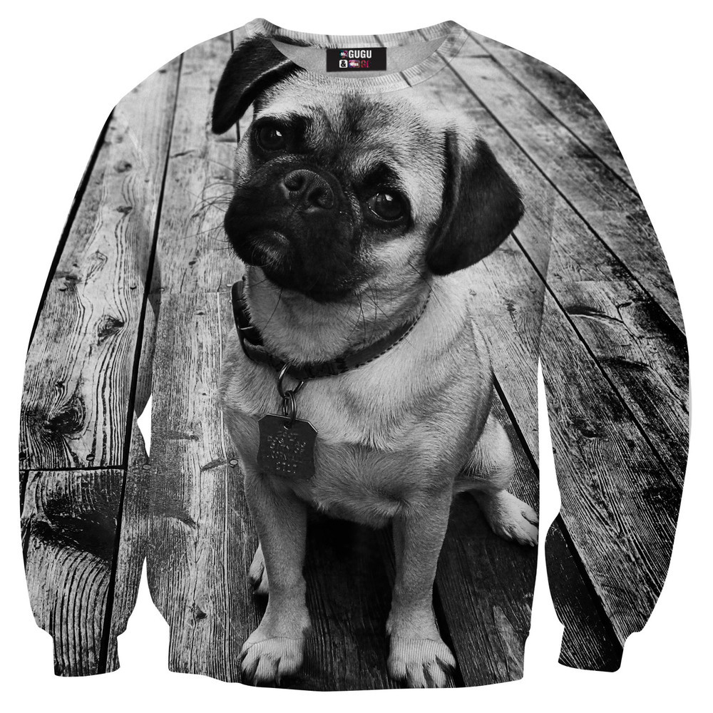 Pug sweater / Mr. Gugu & Miss Go