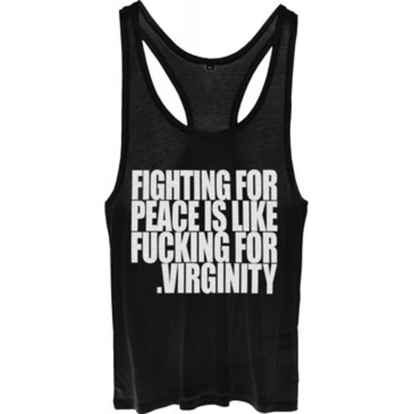 tank top blogger hipster tank top top shirt vintage peace black white swag shit dope cut offs