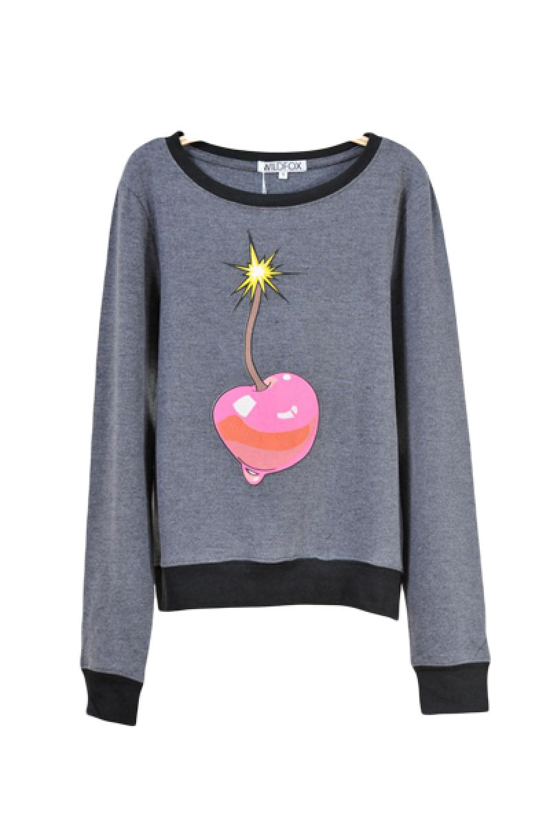 Casual Long Sleeve Pullover Sweater,Cheap in Wendybox.com