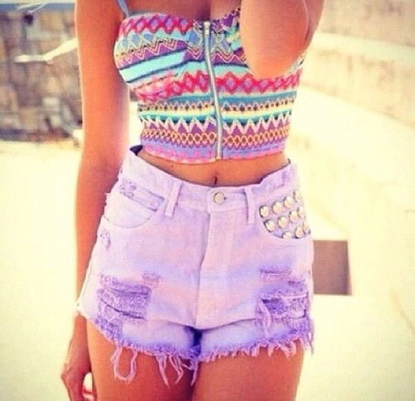 shirt shorts High waisted shorts