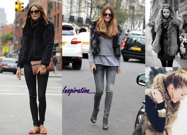 coat vest brown winter white aliexpress fur vest black heather grey streetstyle not dead yet style blogger shorts