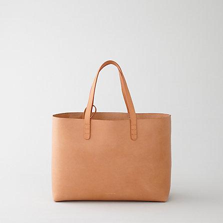 Mansur Gavriel Small Leather Tote | Women's Handbags | Steven Alan