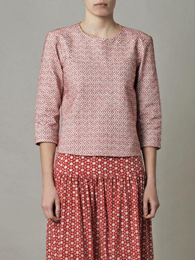 Embroidered A-line blouse | Saloni | MATCHESFASHION.COM