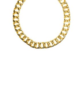 Gogo Philip   Gogo Philip – Breite Halskette bei ASOS