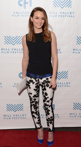 pants leighton meester shoes