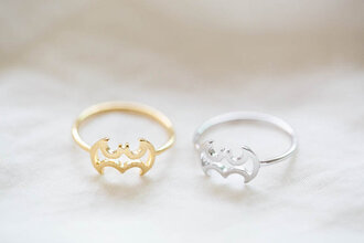 jewels batman best friends infinity ring ring knuckle ring