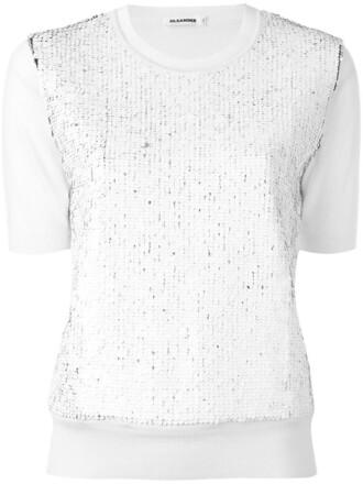 t-shirt shirt women nude wool top