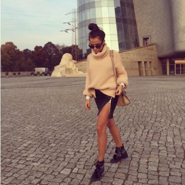 shoes sweater skirt lovely
