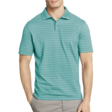 Hanging Short Sleeve Striped Polo Shirt - JCPenney