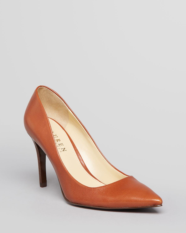 Lauren Ralph Lauren Pointed Toe Pumps - Adena High Heel | Bloomingdale's