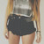 Malibu Knightcat Studded Roller Shorts | RUNWAYDREAMZ