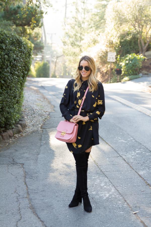 gal meets glam coat dress bag belt