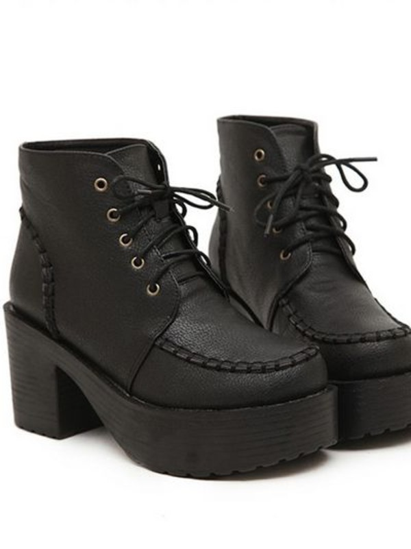 shoes boots heels wedges black