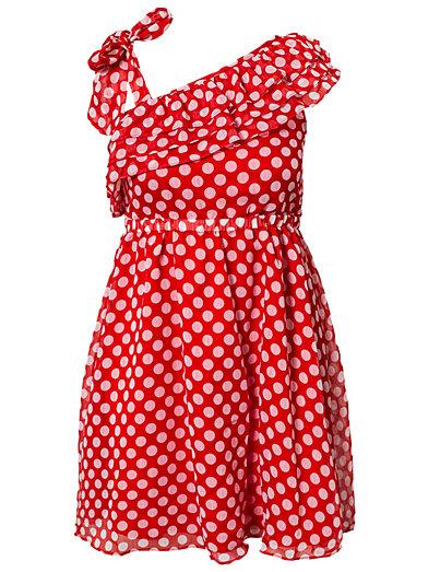 Ida Dress - Catwalk 88 - Rot - Alltagskleider - Kleidung - Frau - Nelly.de Mode Online