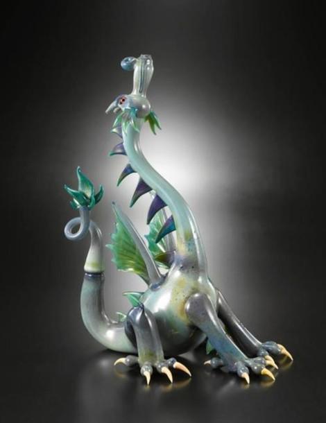 home accessory water pipe pipe marijuana dragon
