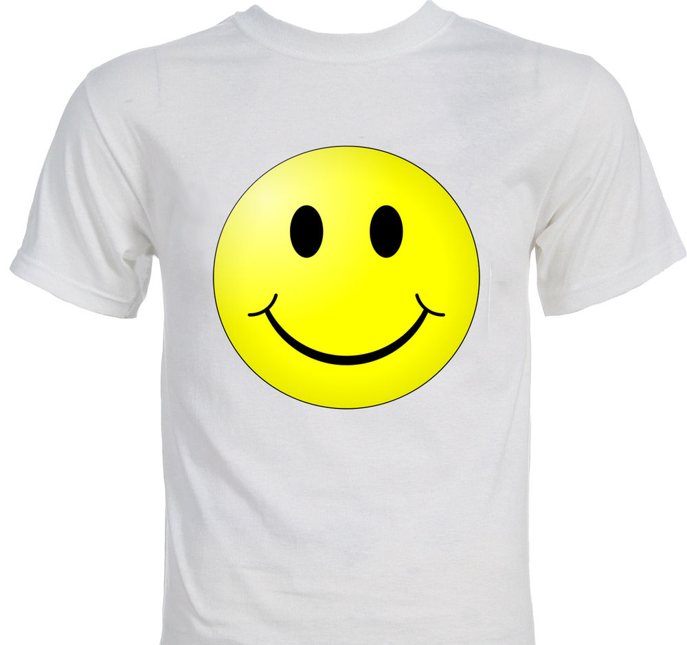 Classic Smiley Face Smile T Shirt | eBay