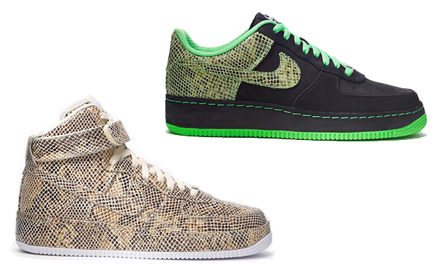 """Nike Air Force 1 Premium """"Year of the Snake"""" iD Available Now  