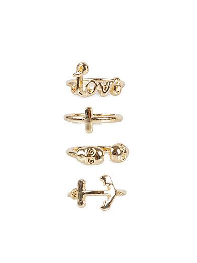 Trill Top Rings - Nly Trend - Guld - Smycken - Accessoarer - Kvinna - Nelly.com