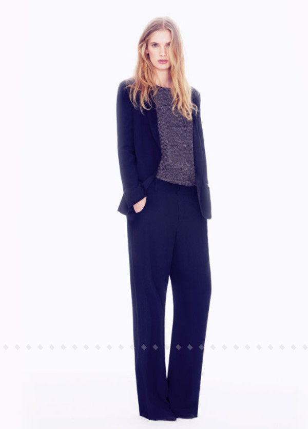 pants ba&sh fashion lookbook shirt jacket